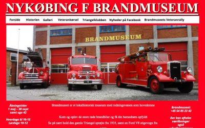 Brandmuseet får ny hjemmeside